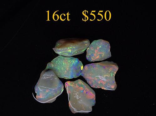 16ct Lightning Ridge Rough Opal