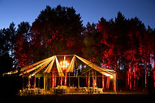 flagstaff wedding hart prairie dj uplighting
