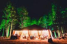 wedding dj flagstaff hart prairie uplighting