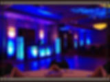 ballroom wedding uplighting az