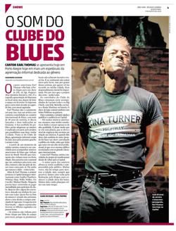 materia ZH clube do blues