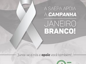 A Saepa apoia a campanha Janeiro Branco