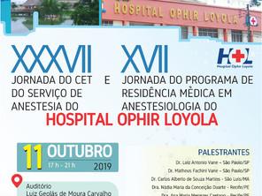 Jornada do CET do Serviço de Anestesia e  Jornada do Programa de Residência Médica em Anestesiologia