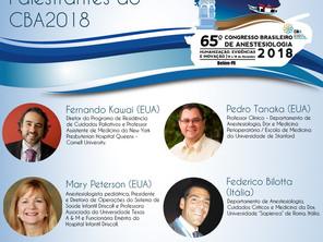 Conheça alguns palestrantes do CBA 2018