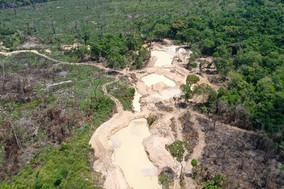 Operação fecha garimpo ilegal dentro da APA Triunfo do Xingu, no PA