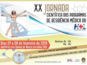 Vem aí a XX Jornada Científica dos Programas de Residência Médica do Hospital Ophir Loyola