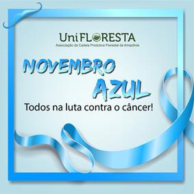 A Unifloresta apoia a Campanha Novembro Azul