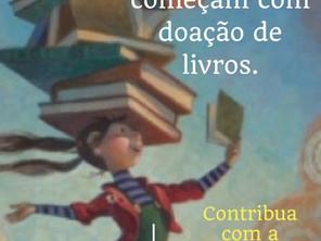 Contribua com a biblioteca do Hospital Oncológico Infantil