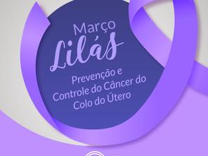 Março Lilás - A Saepa apoia esta campanha