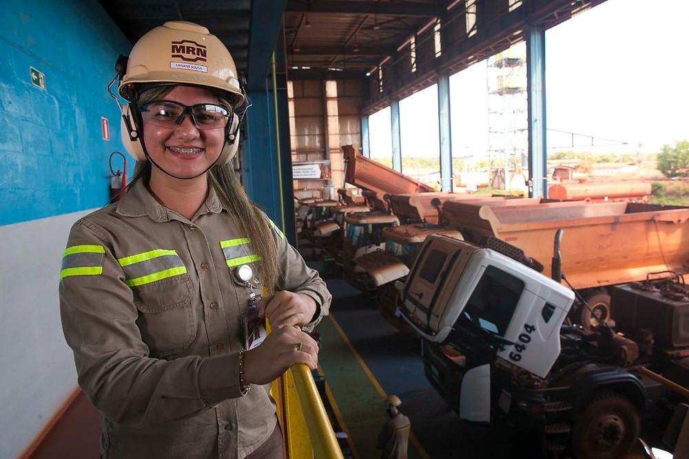 Erivane Sousa - assistente administrativa da Mineração Rio do Norte. Foto: Tarso Sarraf