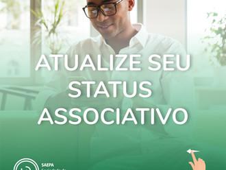 Atualize seu status associativo