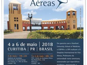 Curitiba sedia II Simpósio Internacional de Vias Aéreas