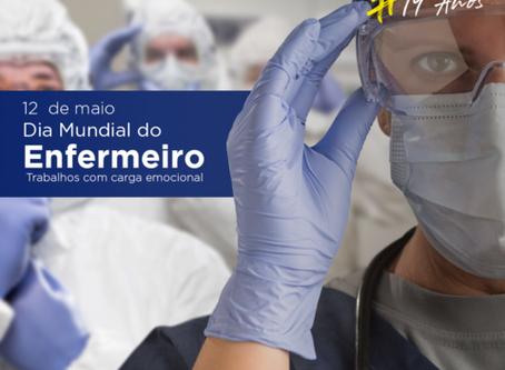 Dia Mundial do Enfermeiro - Trabalhos com carga emocional