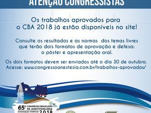 Informativo - CBA 2018