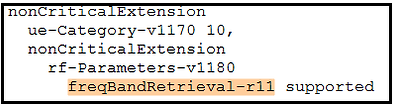 frequency band retrieval