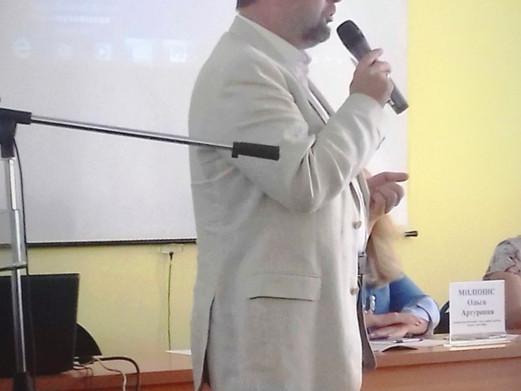 Сергей Владимирович Усков посетил АНО ДПО «Институт непрерывного образования»