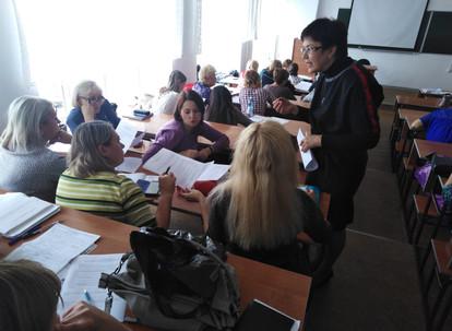 Первые курсы ПК в новом учебном году