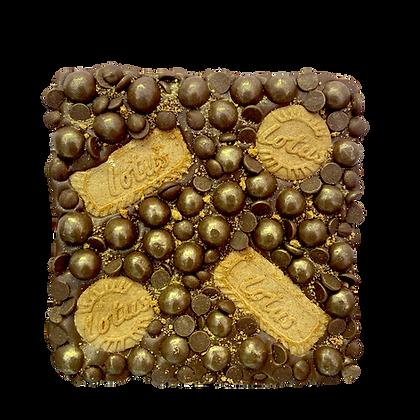 Milk Chocolate Biscoff Stuffed Slab