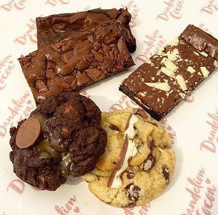 Mixed Box of Brownies & Stuffed Cookies