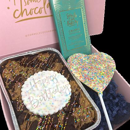 Birthday Bake Box