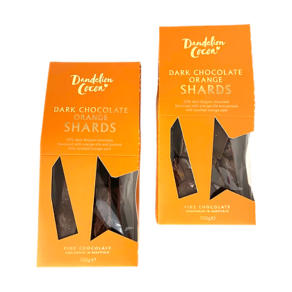 55% Dark Double Orange Shards