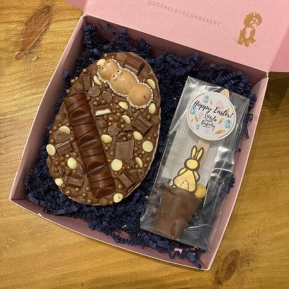 Easter Stuffed Flegg Box