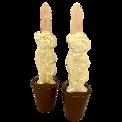 Milkybar Kid Hot Chocolate Stirrer