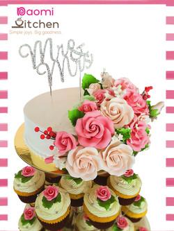 Wedding cupcake Tower 1