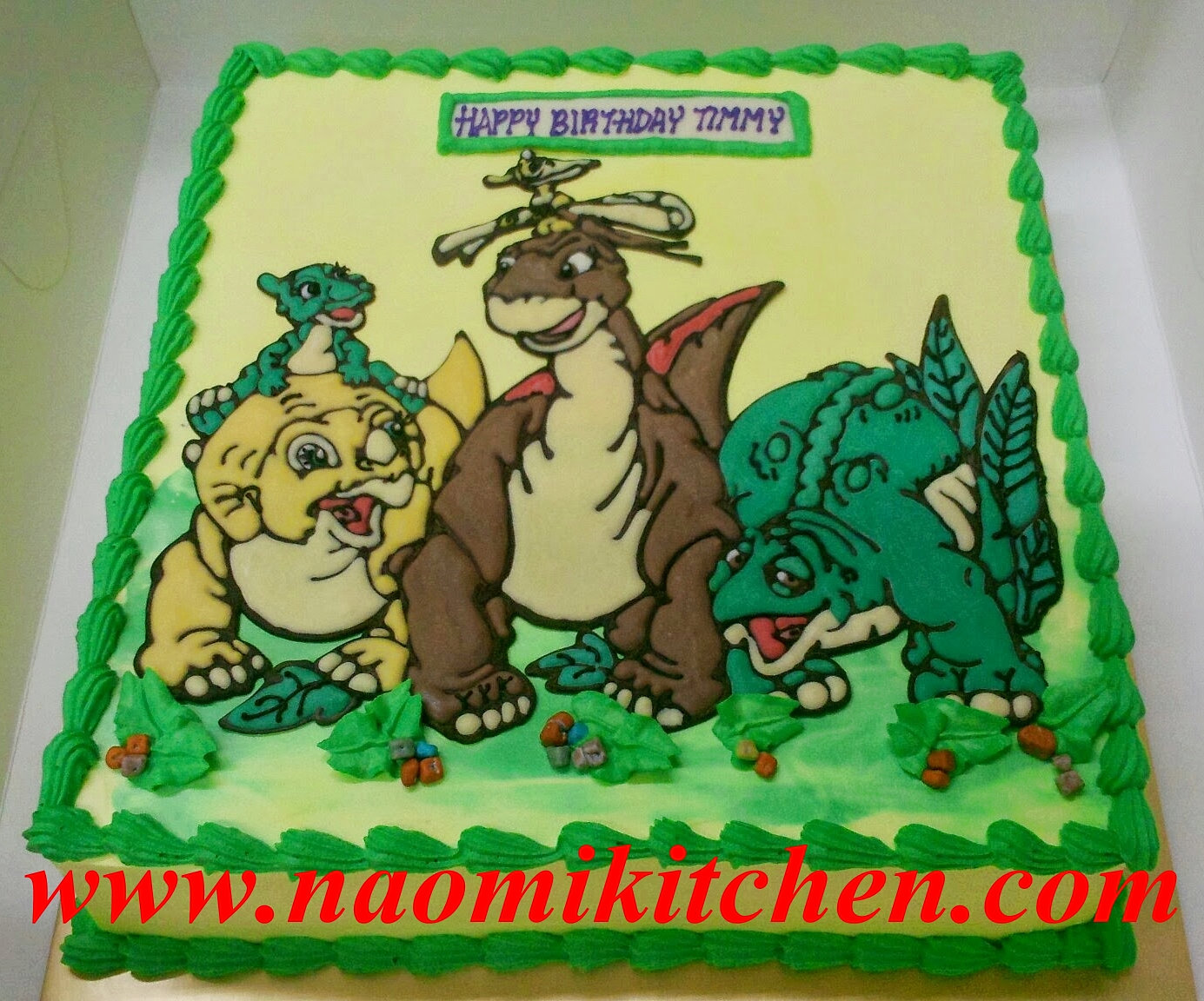 Dinosaurs Birthday Cake Singapore