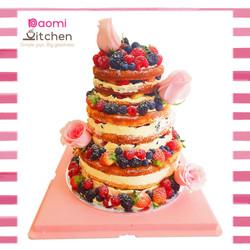wedding berries cake