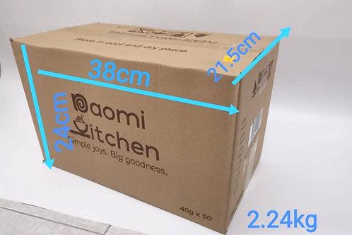 Shipping Fee per Carton (15 packs of Cookies)