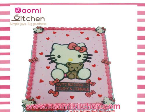 Hello Kitty 14 Birthday Cake Delivery Singapore Naomi Kitchen