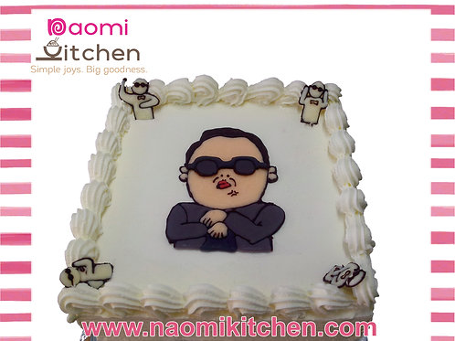 Gangnam Style Cake 1