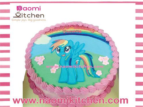 Cakes background