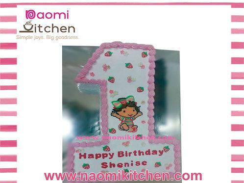 Number 1 - Strawberry Shortcake