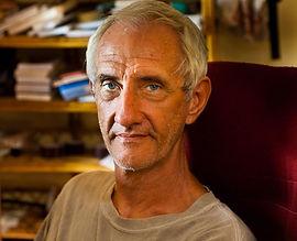 David Godman taken by Geraldine Westrupp