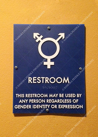Restroom Sign For All - No.1