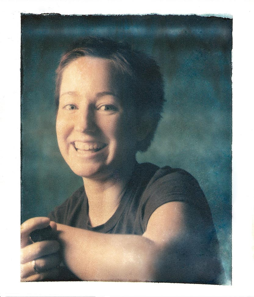 Liz Polaroid Transfer