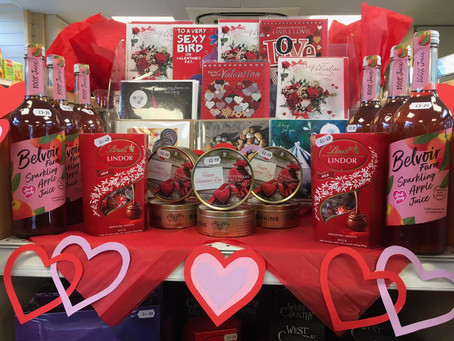 Valentine's Day is almost upon us, are you prepared?!