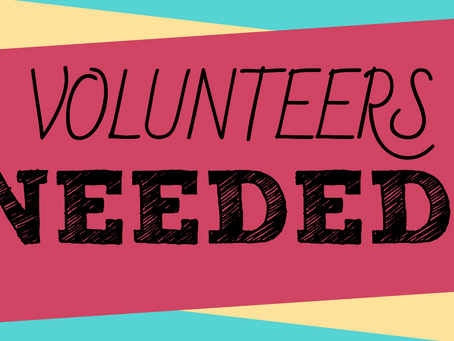 Temporary Volunteers Needed!