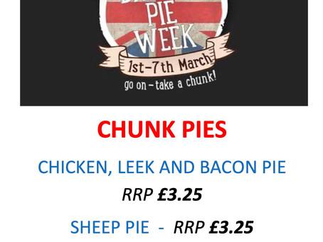 Pie Week coming up! We have some tasty bargains!