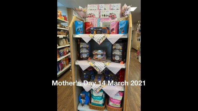 Mother's Day - 14th March