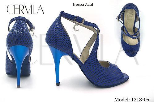 1218-05 Trenza Azul
