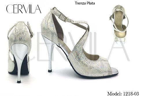 1218-03 Trenza Silver