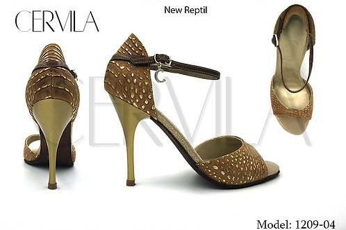 1209-04 New Reptil heel:3.5 inch SIZE 35