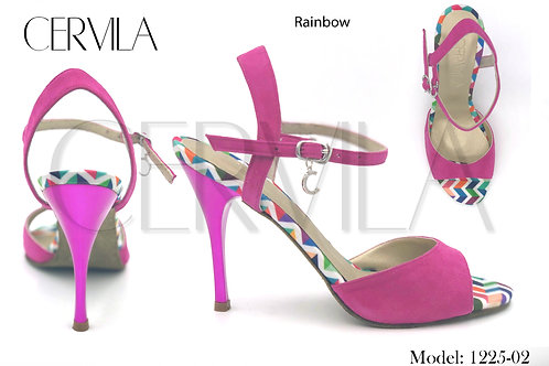 1225-02 Rainbow heel 3.5 inch SIZE 37