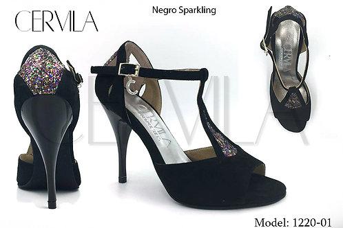 1220-01 Sparkling Gamuza Negro