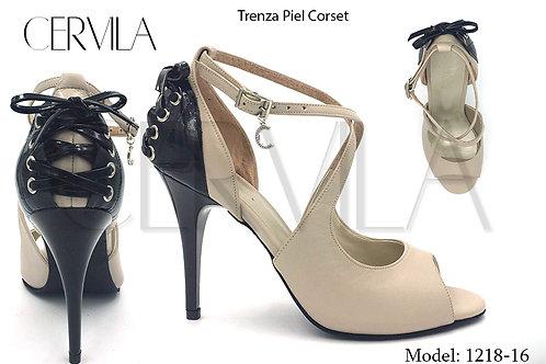 1218-16 Trenza Corset size 39 heel 3.5 in