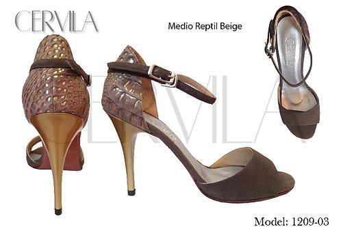 1209-03 Medio reptil size 35 Heel 3.5 in