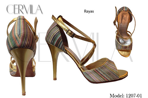 1207-01 Rayas heel 3.5 in size 34
